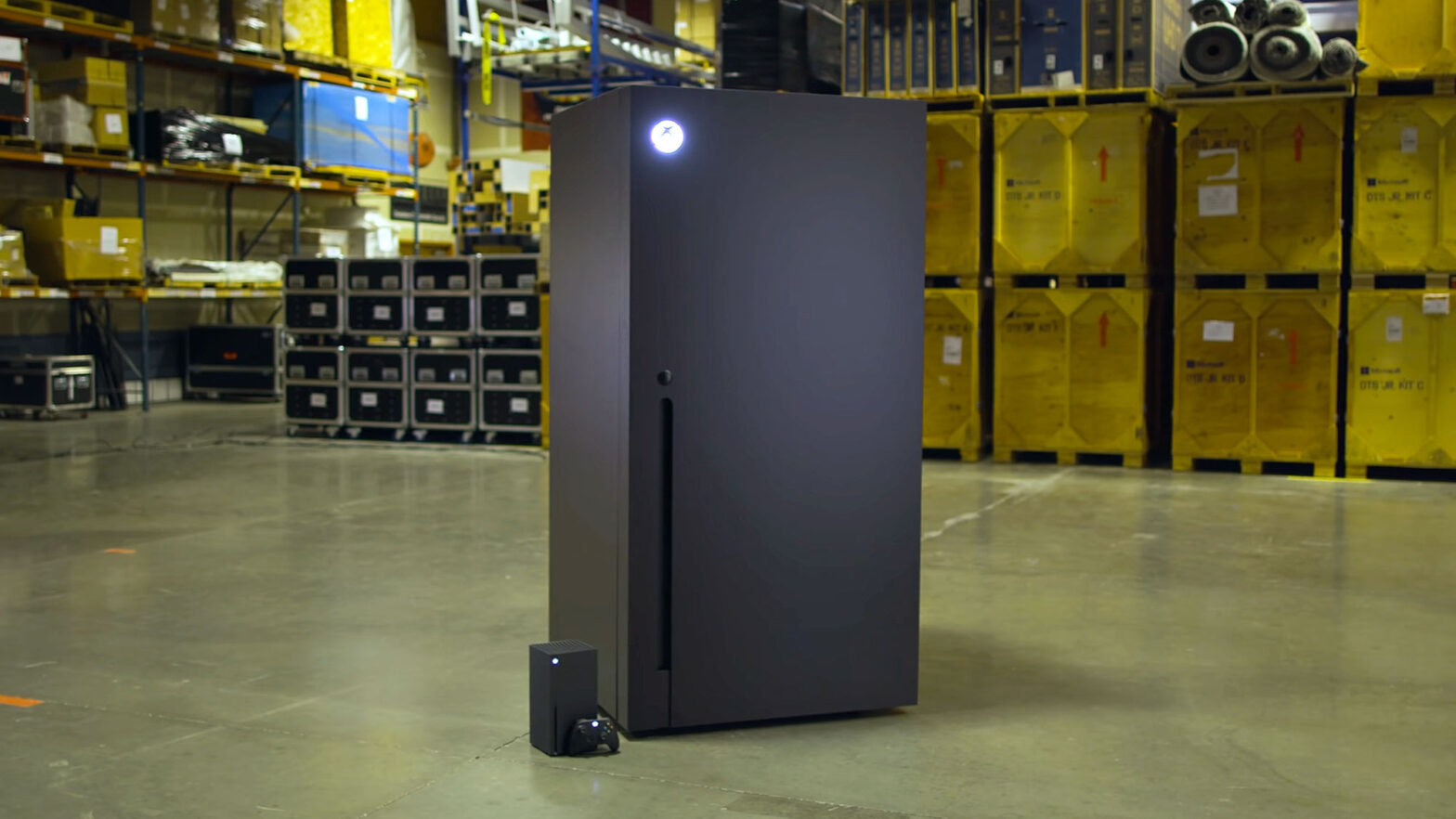 Microsoft Xbox Series X Fridge Revealed