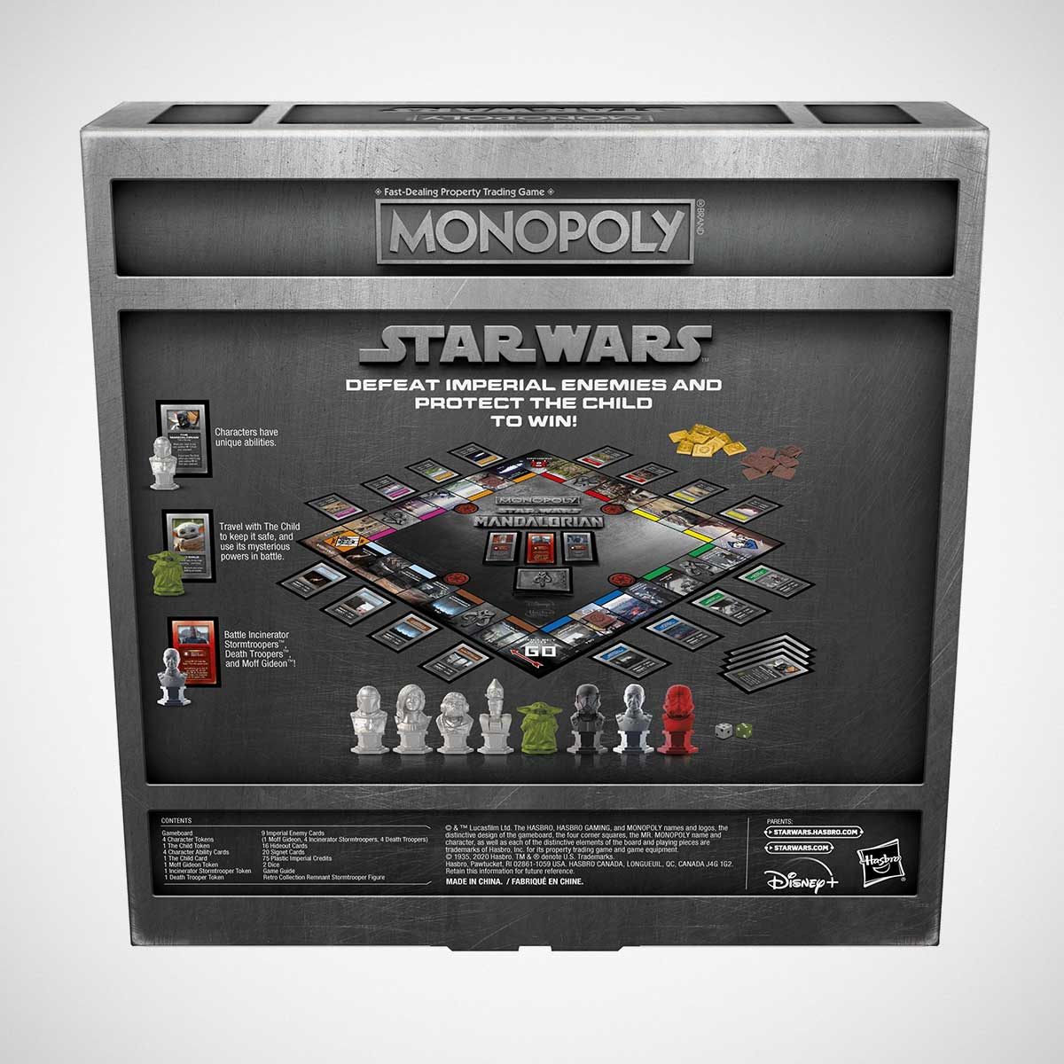 Monopoly Star Wars The Mandalorian Edition Game