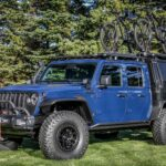 Mopar Jeep Gladiator Top Dog Is A Concept Truck Outfitted For Hardcore Mountain Bikers