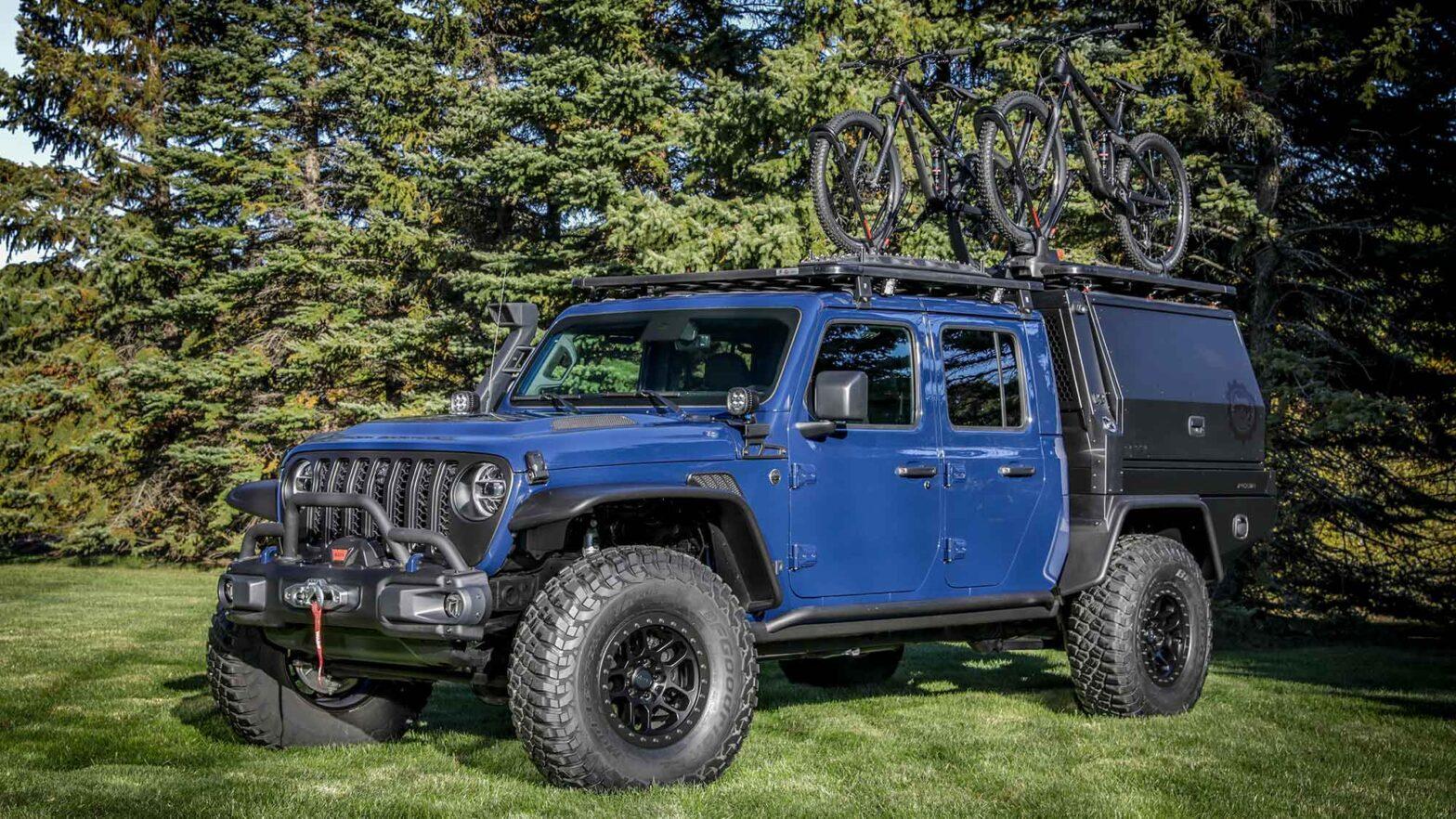 Mopar Jeep Gladiator Top Dog Concept Truck