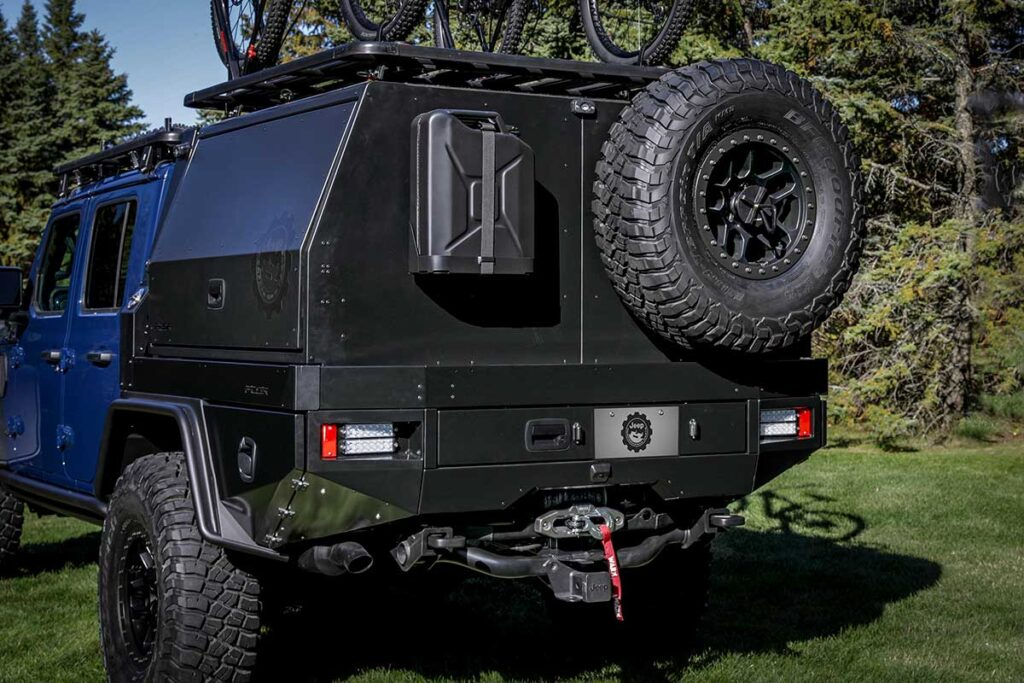 Mopar Jeep Gladiator Top Dog Concept Truck