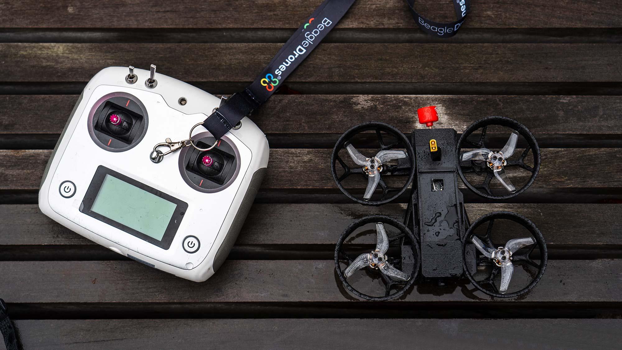 NOVA Cinematic FPV Drone by Beagle Drones