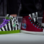 Officially Licensed <em>Beetlejuice</em> Shoes Are Perfect Homage To Tim Burton's Classic Flick