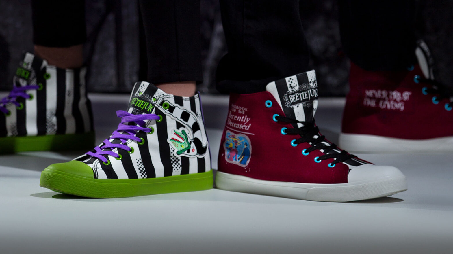 Officially Licensed Beetlejuice Shoes