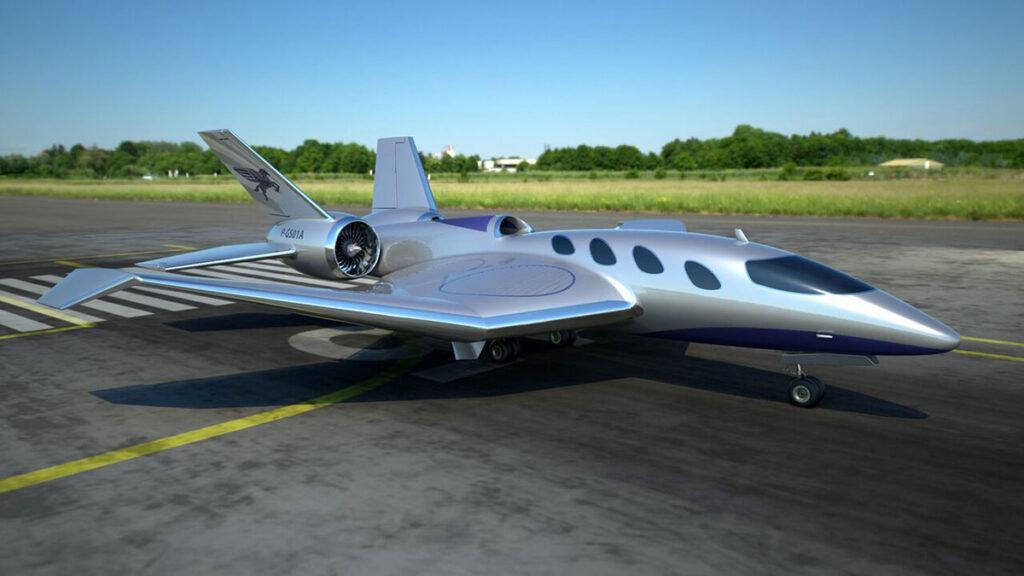 Pegasus Vertical Business Jet