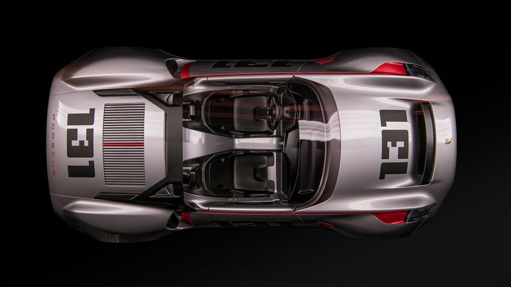 Porsche Vision Spyder Design Study