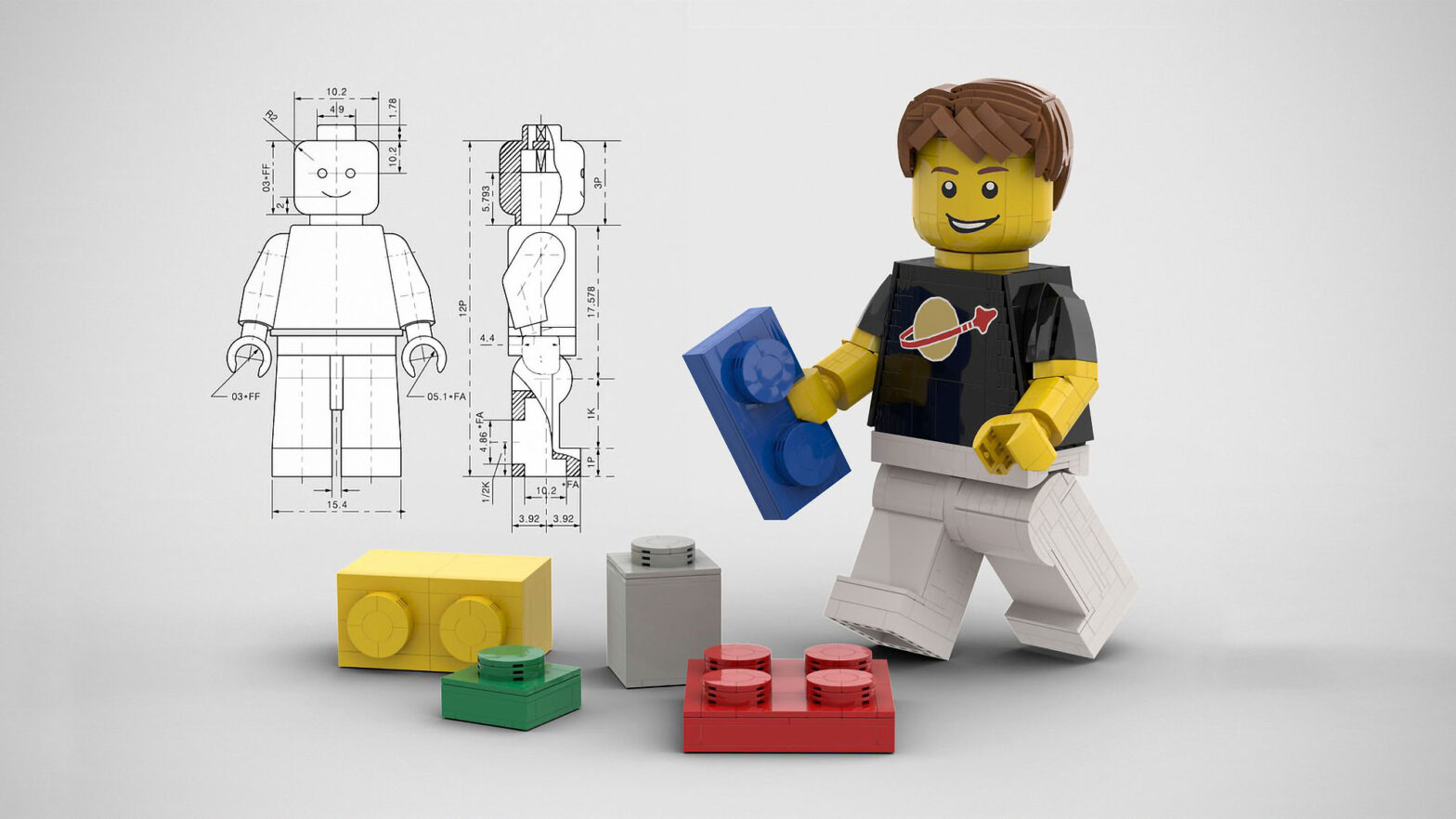 Proposed LEGO Ideas Giant Minifig by Seb_E