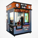 Robotic Arm Smart Milk Tea Vending Machine: Robots Are Taking Over The Job Of Selling Boba Tea Too