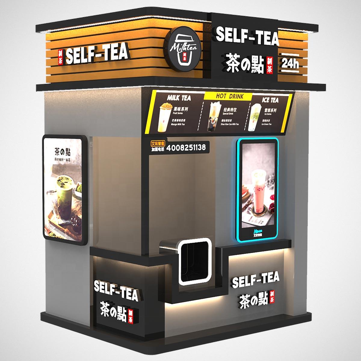 Robotic Arm Smart Milk Tea Vending Machine