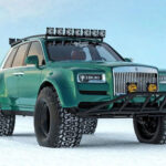 This Is What The Rolls-Royce Cullinan Could Look Like As An Arctic Expedition Vehicle