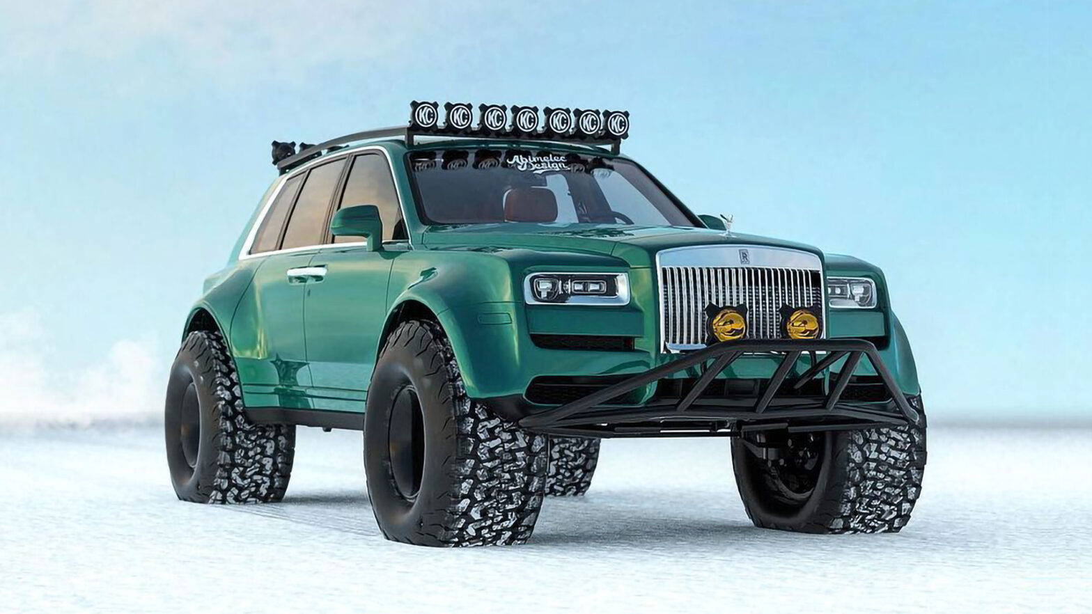 Rolls-Royce Cullinan Arctic Expedition Concept