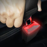 Skoda Secured Worldwide Patent For Illuminated Smart Seat Belt Buckle