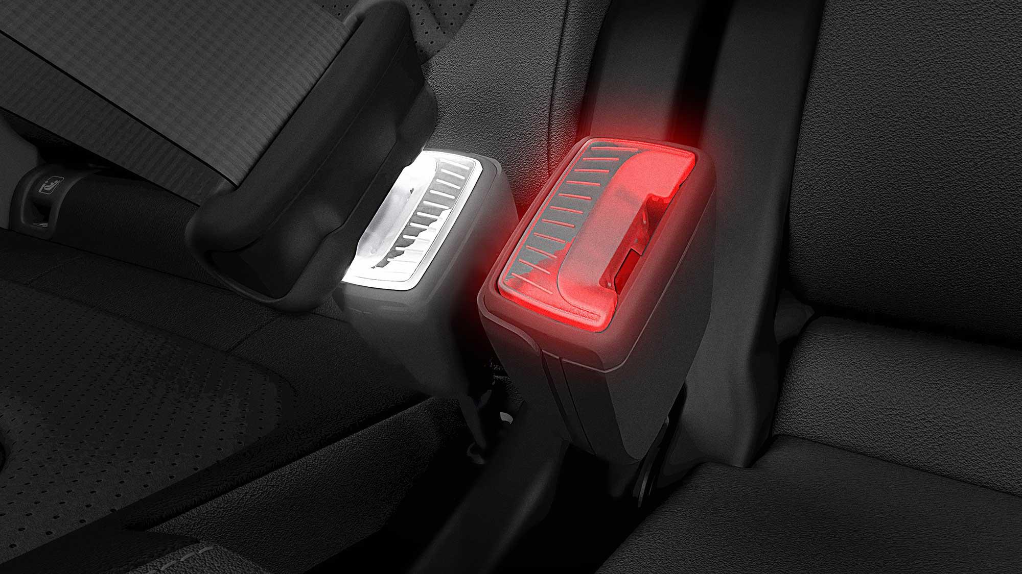 Skoda Illuminated Smart Seat Belt Buckle