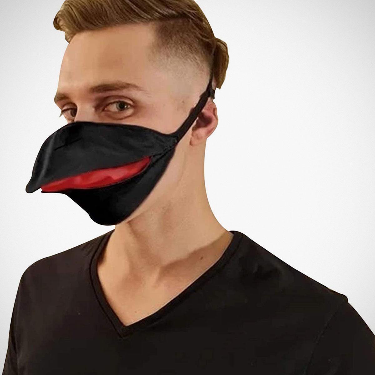 """Talking"" Bird Mask"