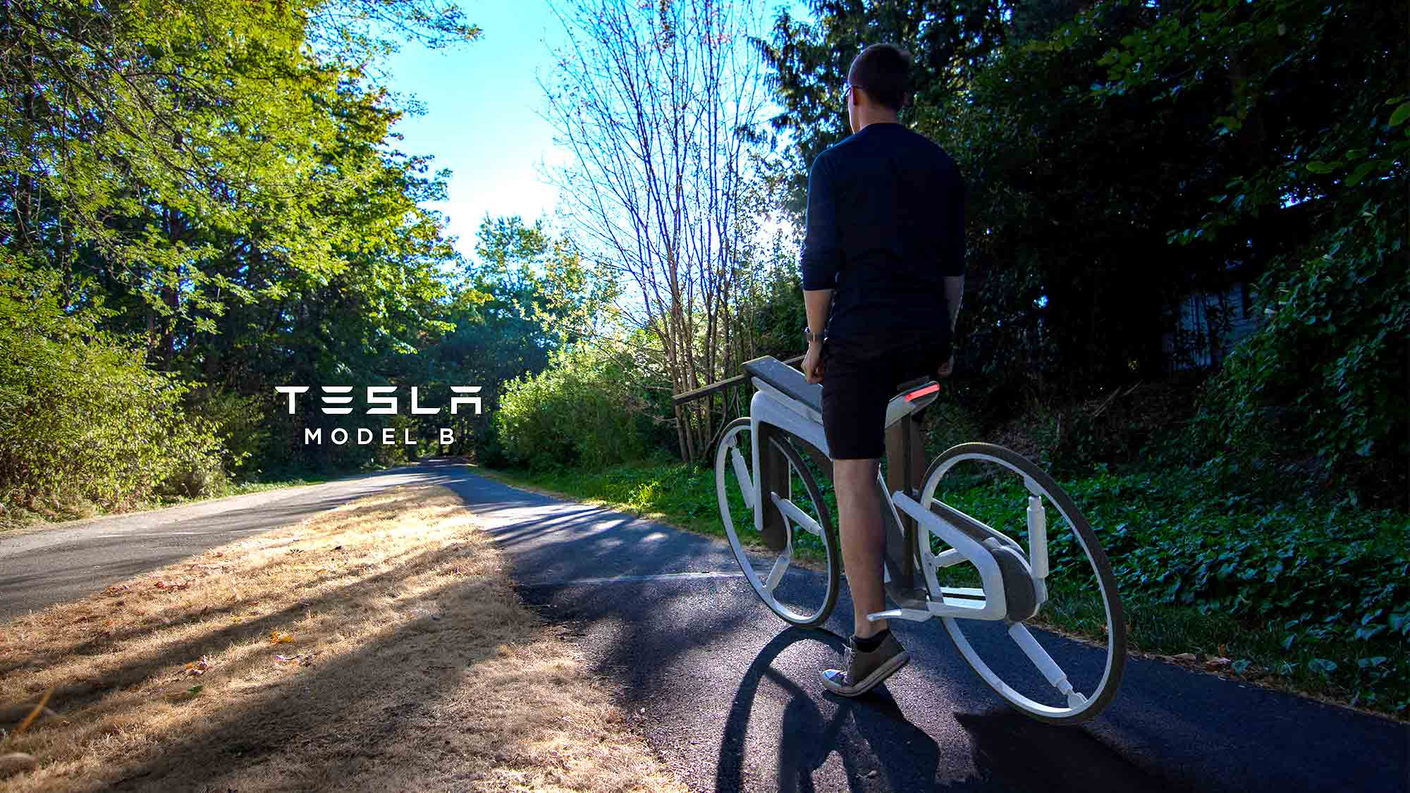 Tesla Concept Electric Bicycle by Kendall Toerner
