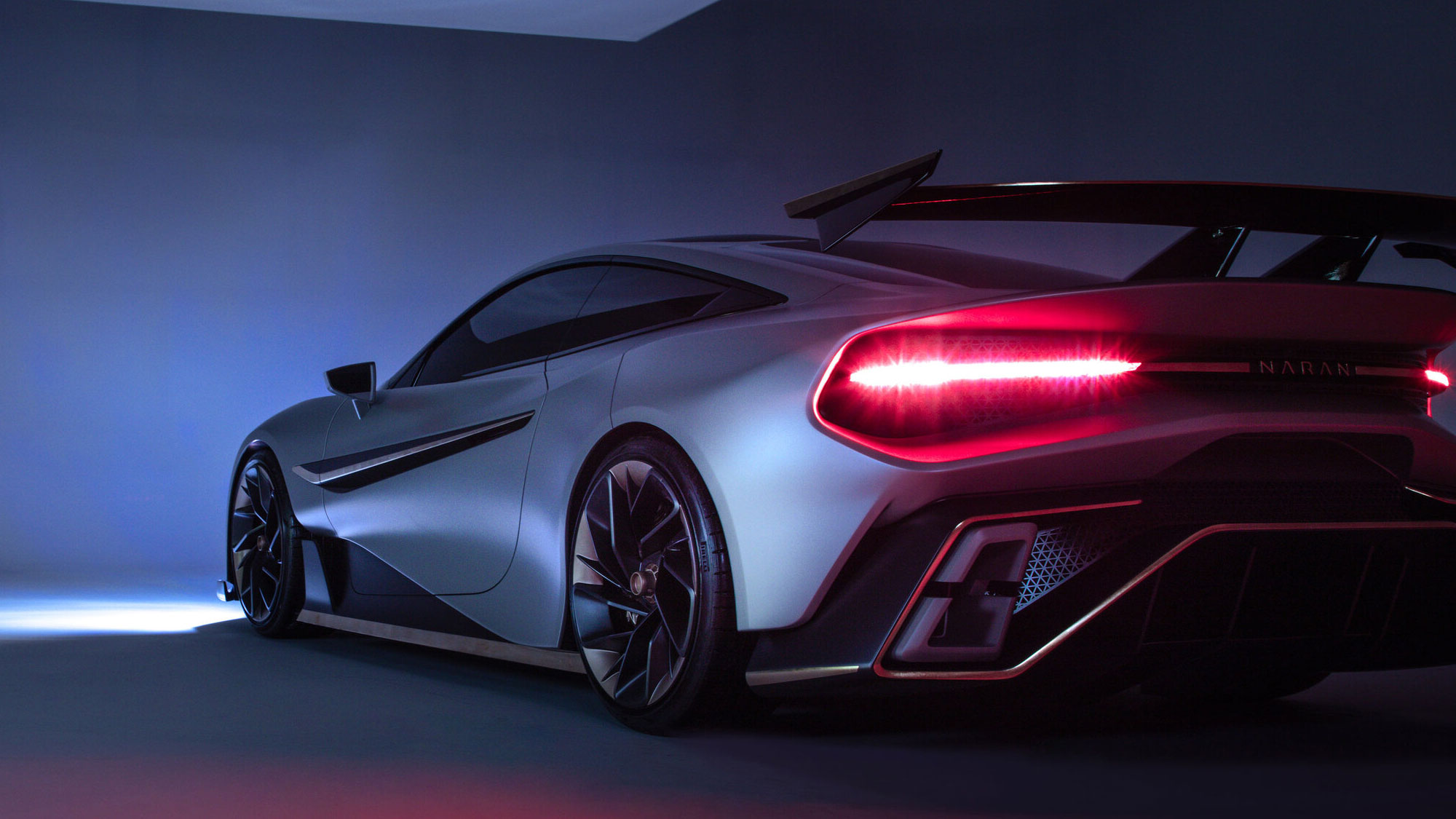 The Naran GT3-inspired 2+2 Hyper-coupe