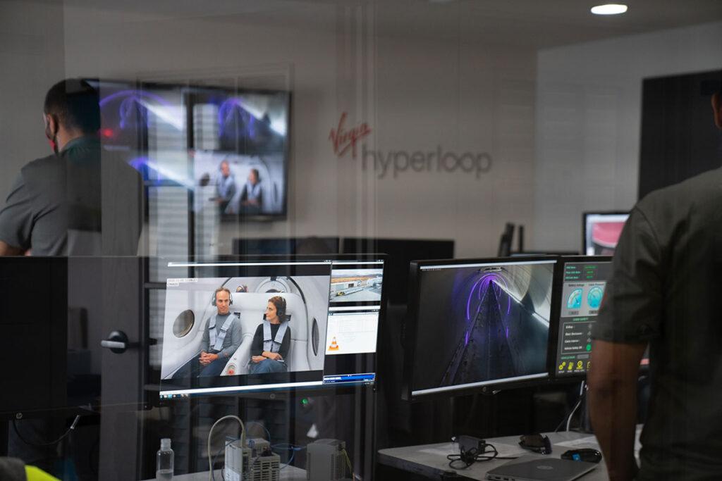 Virgin Hyperloop Made First Passengers Test