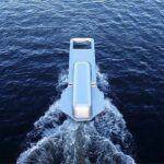 This Boat Was Designed To Mimic A Zipper Pull, Looks It Is Unzipping The Water As It Sails Across The River