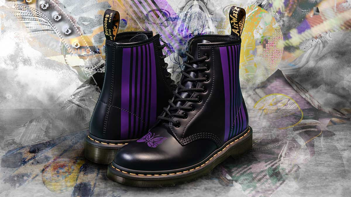 Dr. Martens x Needles 1460 Remastered