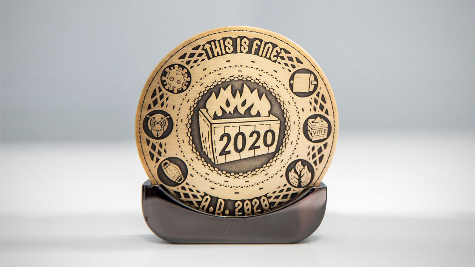 2020 Commemorative Coin by Antsy Labs