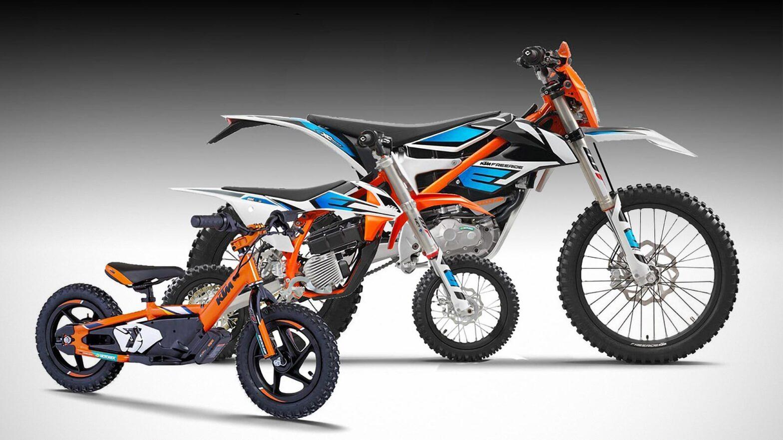 2021 KTM Electric Bikes