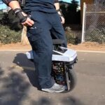 Cyberwheel: It's An Electric Unicycle With A Tiny Cybertruck For Its Upper Body