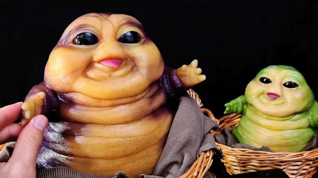 Baby Jabba the Hutt Sculpture by LoreCraft