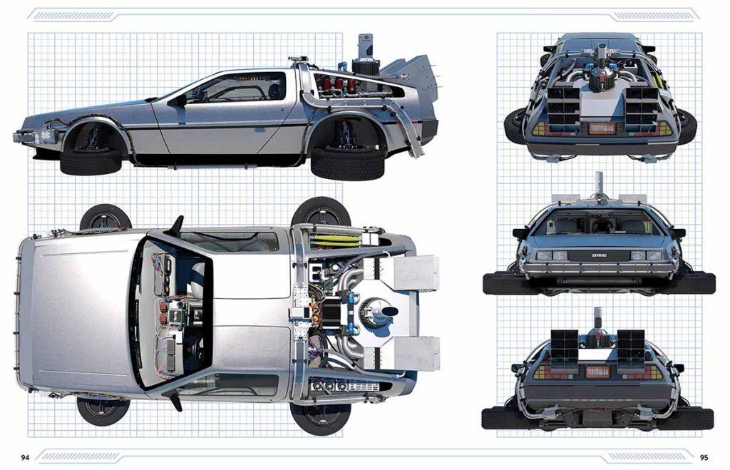Back to the Future Delorean Time Machine Manual