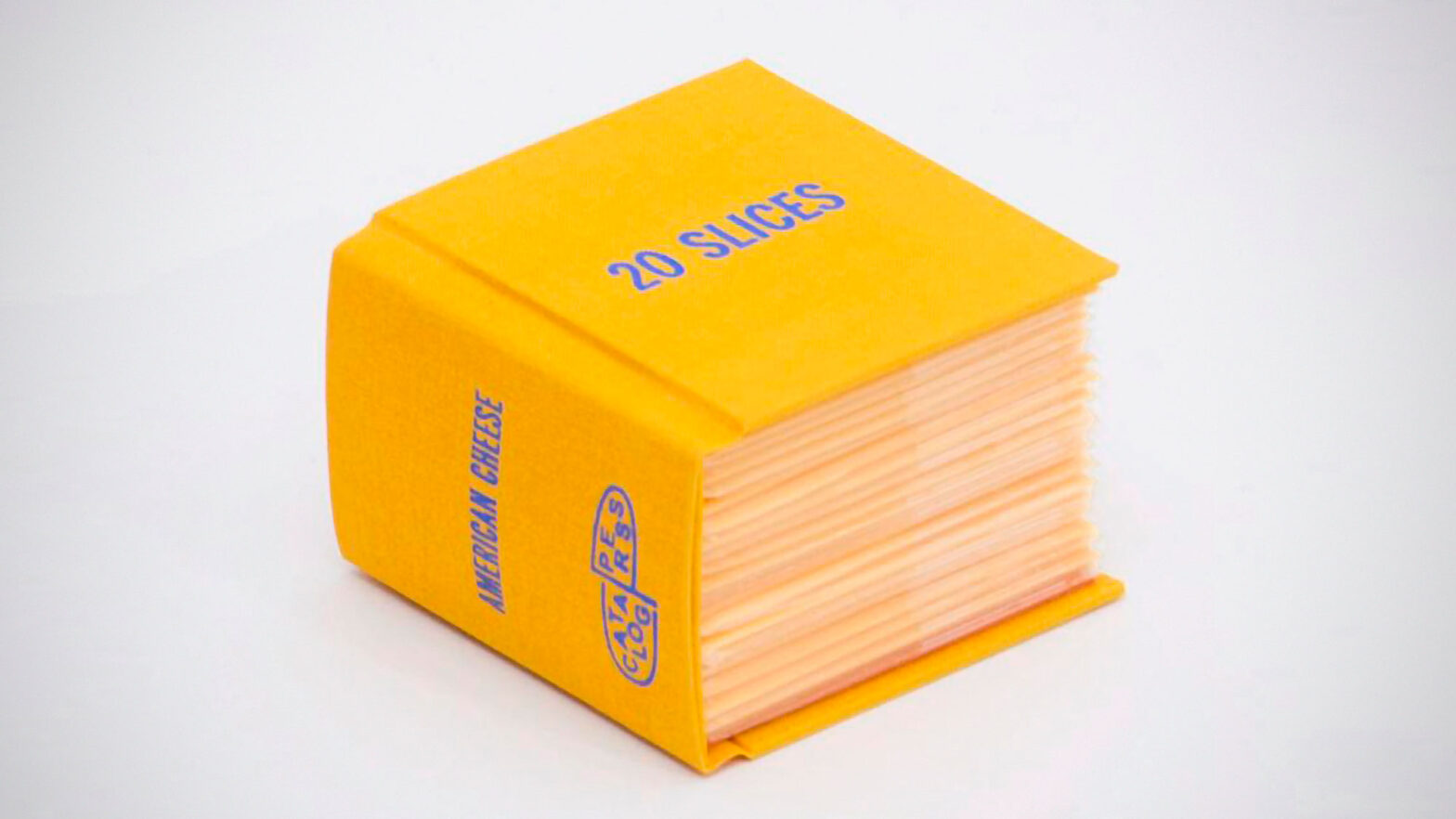 Book of 20 Slices of Cheese by Ben Denzer