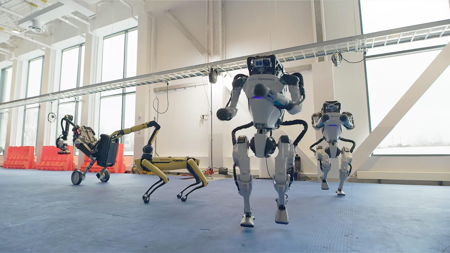 Boston Dynamics Robots Danced To 60s Song