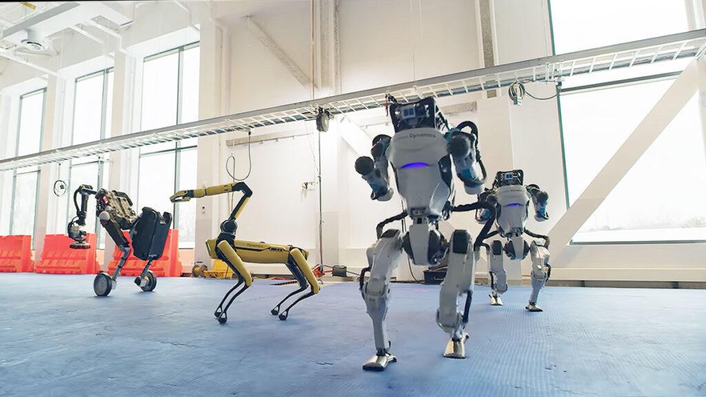 Boston Dynamics Robots Danced To 60s Song
