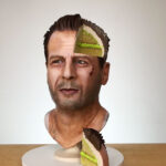 Someone Just Made A Hyperrealistic Looking Bruce Willis… Ermm, Cake?