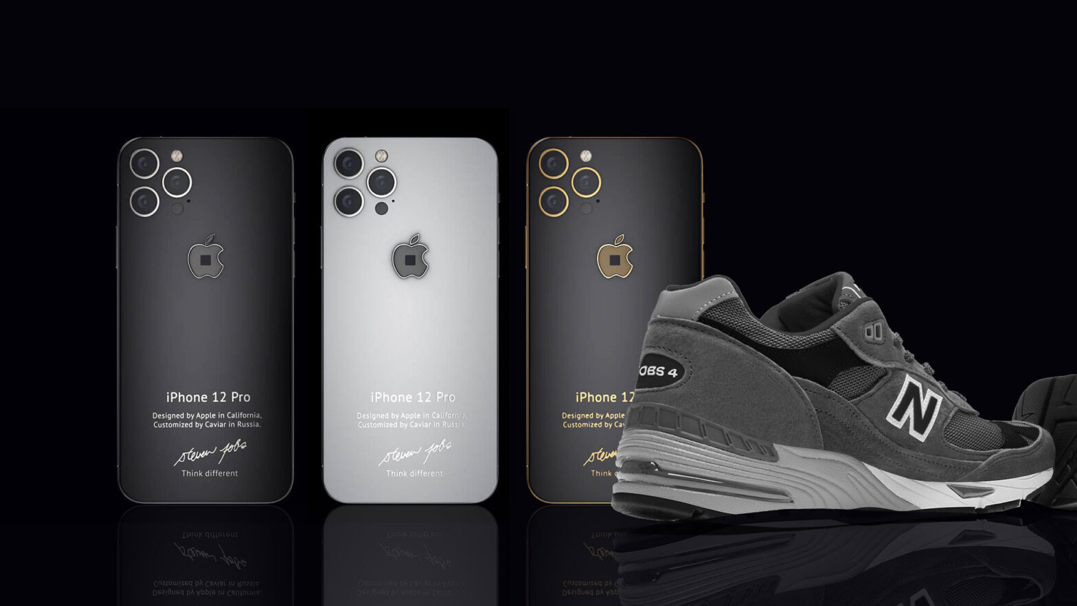 Caviar iPhone 12 Jobs 4 Smartphone