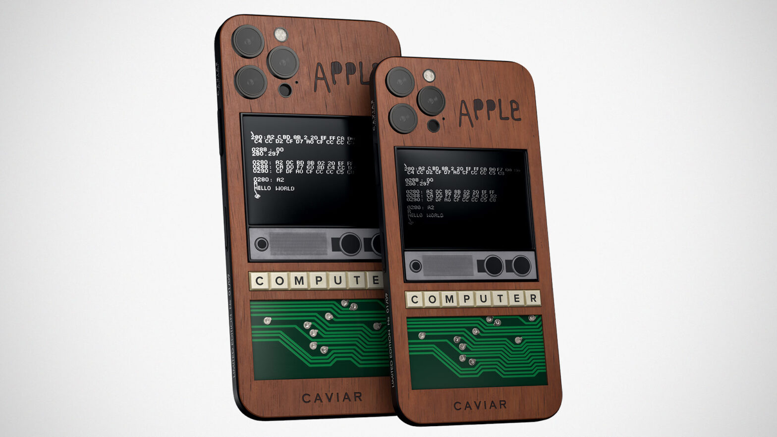 Caviar iPhone 12 Pro Apple 1 Edition