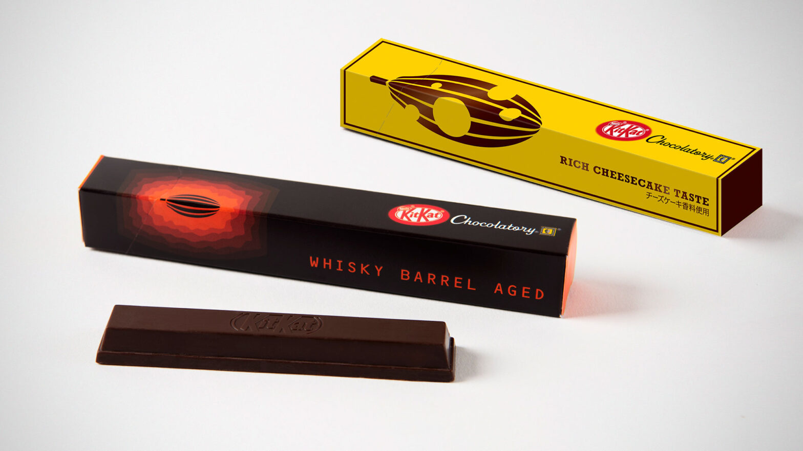 Cheesecake and Whiskey Barrel Aged KitKat