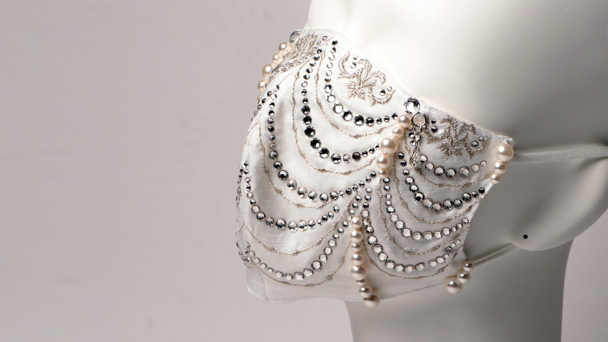 Cox Co Diamond and Pearl Masks
