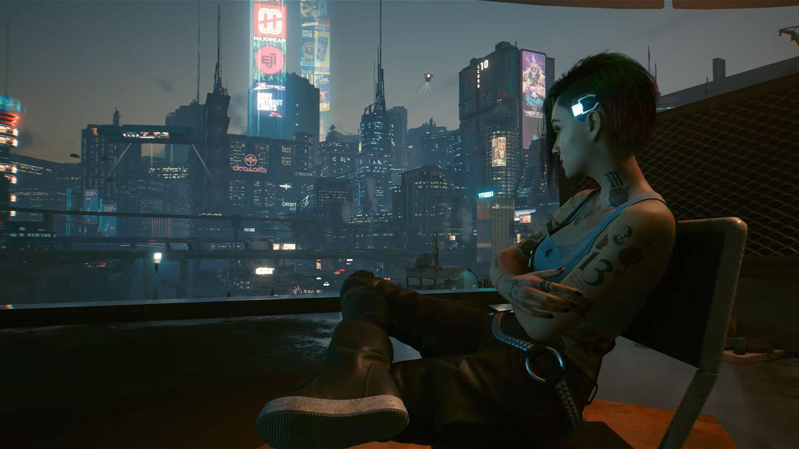 Cyberpunk 2077 Official Launch Trailer V