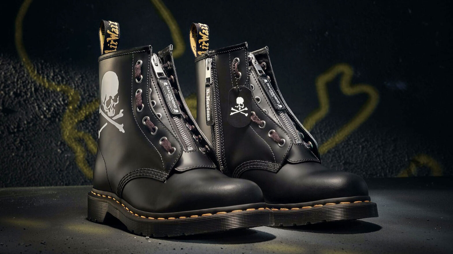 Dr. Martens x Mastermind World 1460 Remastered