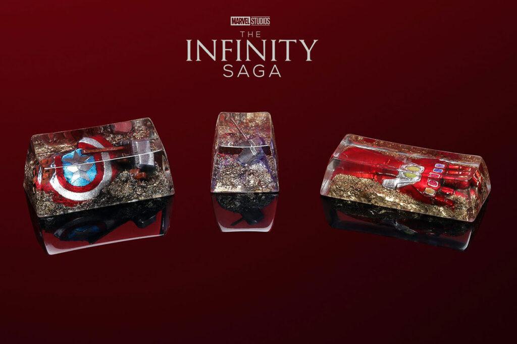 Drop + Marvel Infinity Saga Artisan Keycap