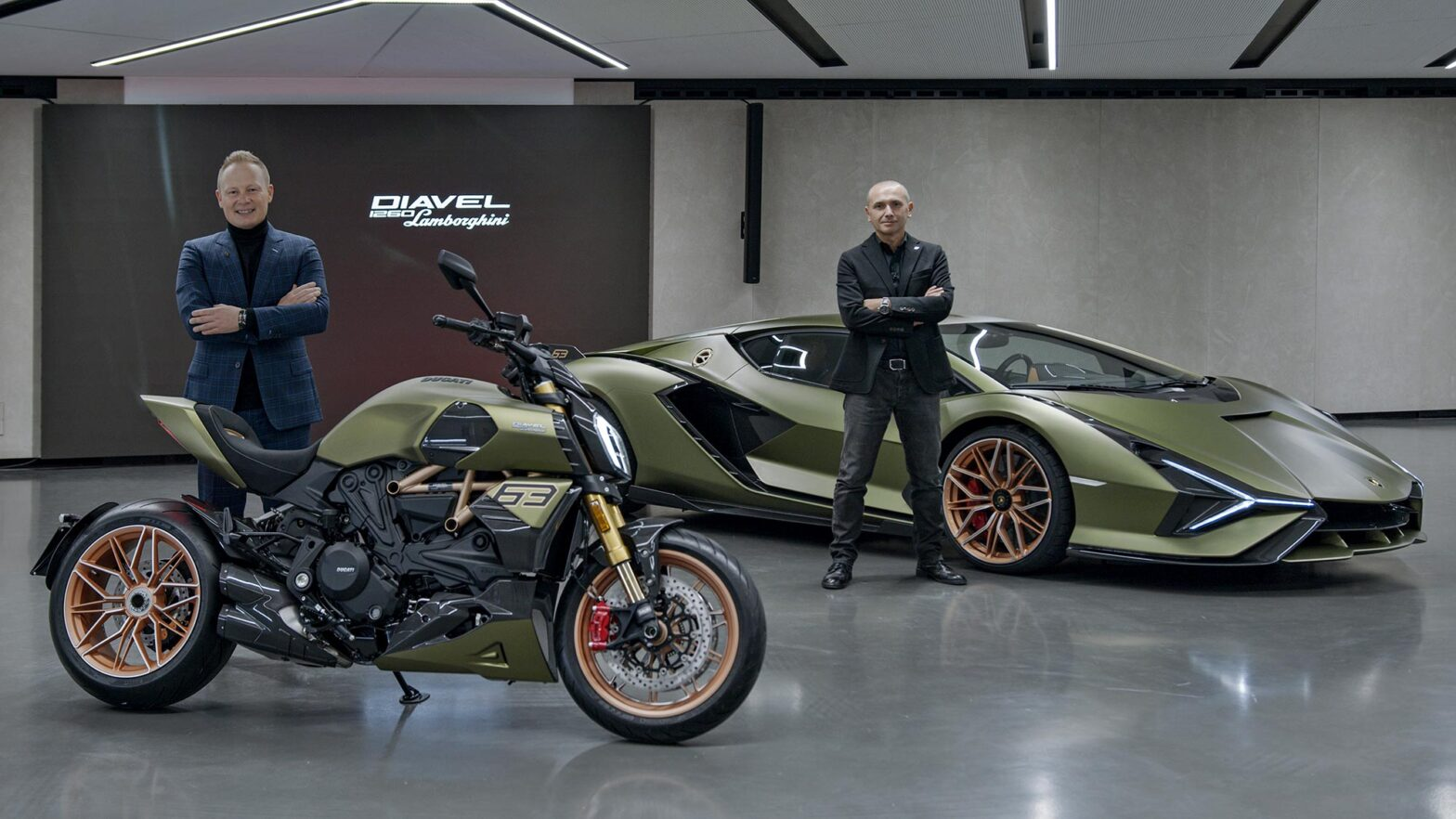 Ducati Diavel 1260 Lamborghini Motorcycle