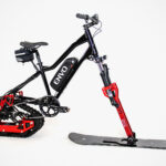 This Kit Will Turn A Regular Bicycle Into An Pedal-Assist Electric Snowbike