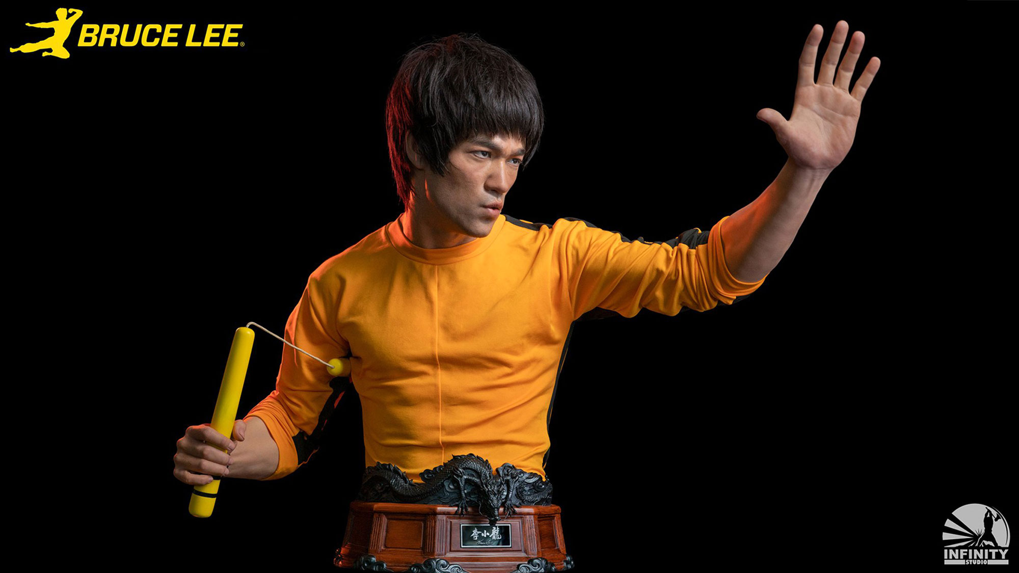 Infinity Studio Bruce Lee Life-size Silicone Bust