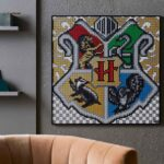 Show Your Allegiance With Hogwarts Houses With These New LEGO Wall Art Sets