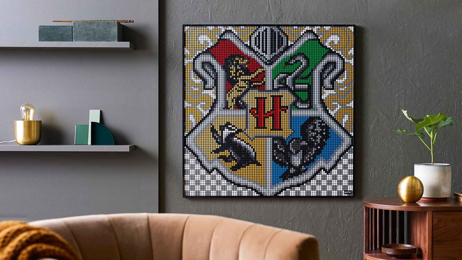 LEGO 31201 Art Harry Potter Hogwarts Crests