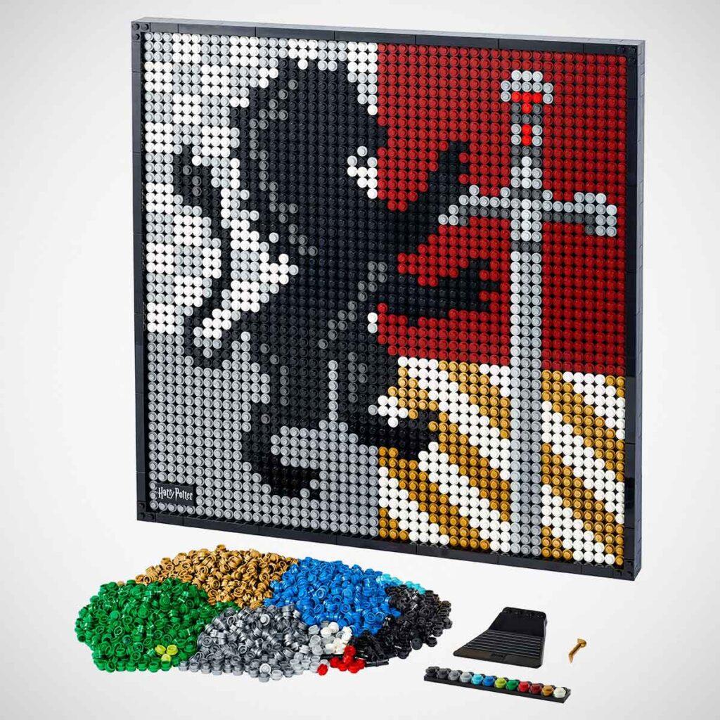 LEGO 31201 Art Harry Potter Hogwarts Crests