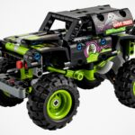 Monster Jam's Superstar, Grave Digger, Comes To LEGO Technic!