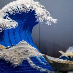 You Have Seen Images Of Hokusai's <em>Great Wave</em>, Now See It As A LEGO Sculpture
