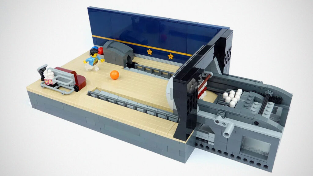 LEGO Working Bowling Alley by LEGOParadise