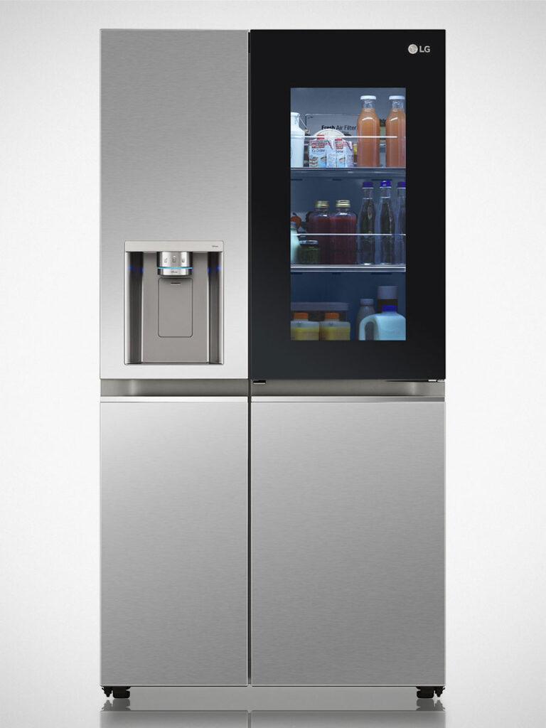 LG InstaView Door-in-Door Refrigerators CES 2021
