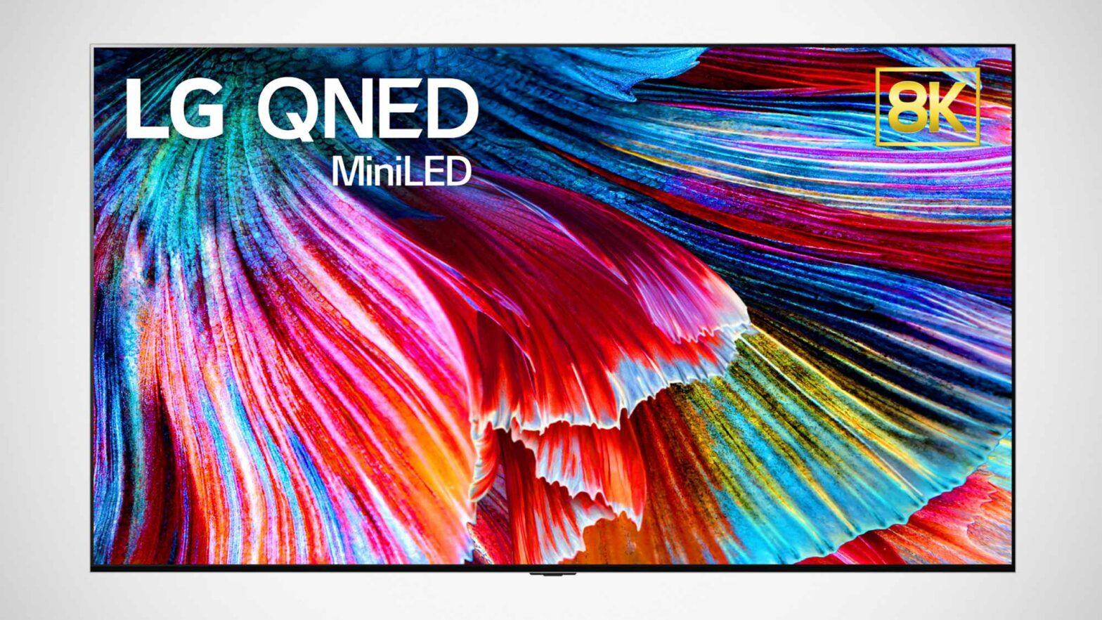 LG QNED Mini LED TVs CES 2021